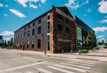DNR Outdoor Adventure Center in downtown Detroit
