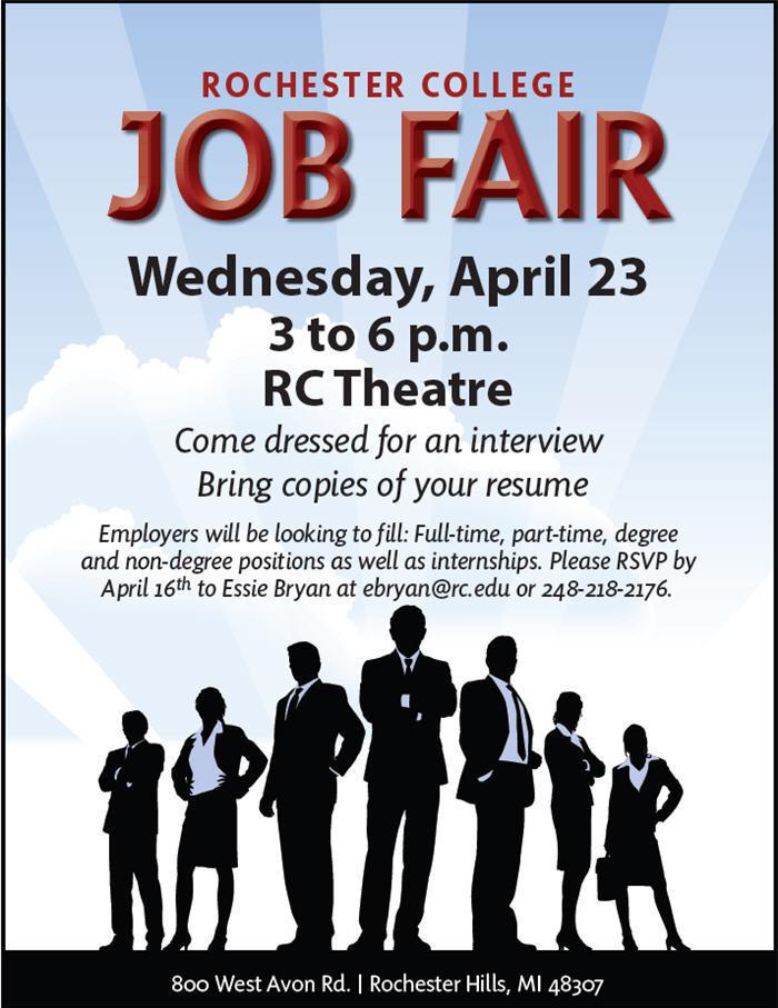 Rochester College Job Fair - 04-23