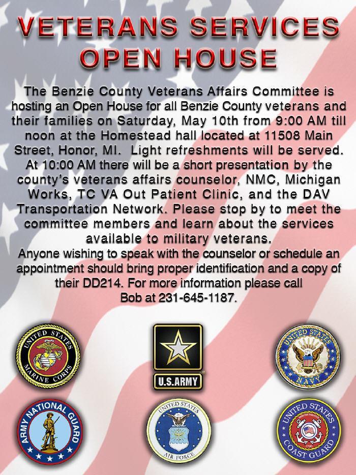 Veterans Services Open House