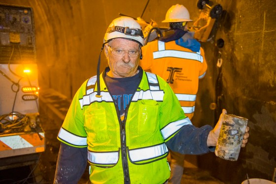 Tooth Rock Tunnel repair team