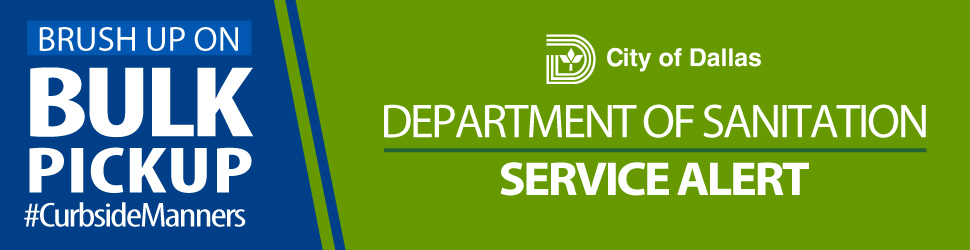Sanitation Service Alert Header