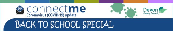 Connect Me COVID back to school special header