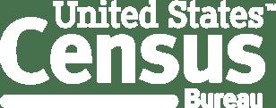 White Census Bureau logo