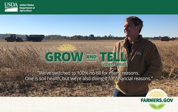 Grow and Tell -- Save Time and Money with No-Till