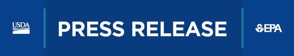 USDA-EPA press release header