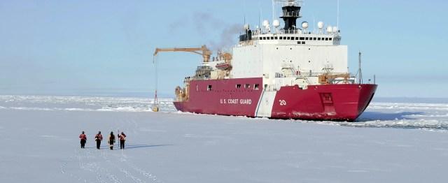 Coast Guard Cutter Healy crew conduct Arctic operations - U.S. Coast Guard photo by Tom Ciaburri/Silver Fir Media