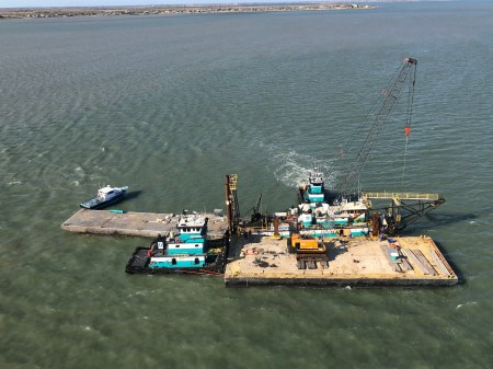 Coast Guard responding to grounded barge in Matagorda Ship Channel near Port Lavaca, Texas