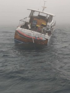 Coast Guard crew rescues 2 from boat before vessel sank 28 miles south of Eureka