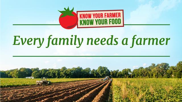 Do you know your farmer?