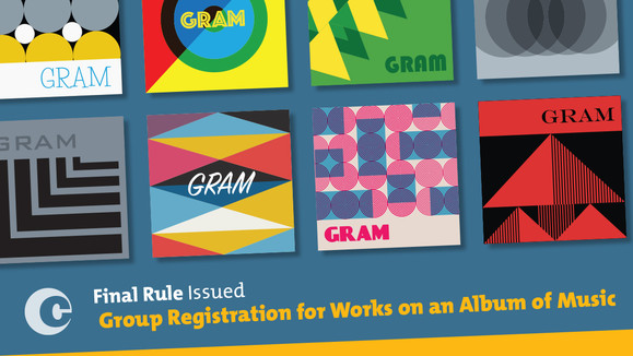 Final Rule Issued: Group Registration for Works on an Album of Music