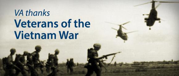 Vietnam War scene with