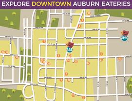 Auburn Downtown Restaurants