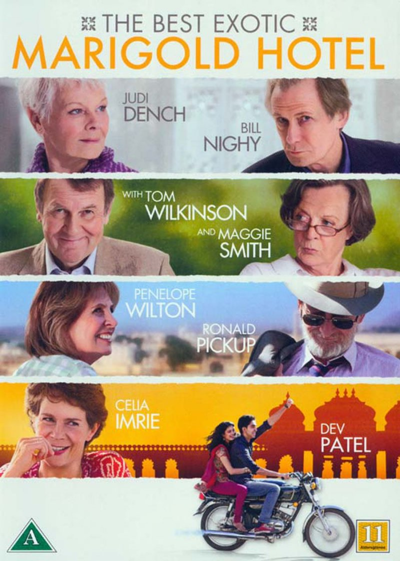 The Best Exotic Marigold Hotel DVD Film → Køb billigt her - Gucca.dk