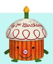 First Birthday Cake Plush