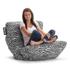 Cheetah Print Bean Bag Chair Ikea Bed Animal Chairs Hayneedle Big Joe Roma Zebra