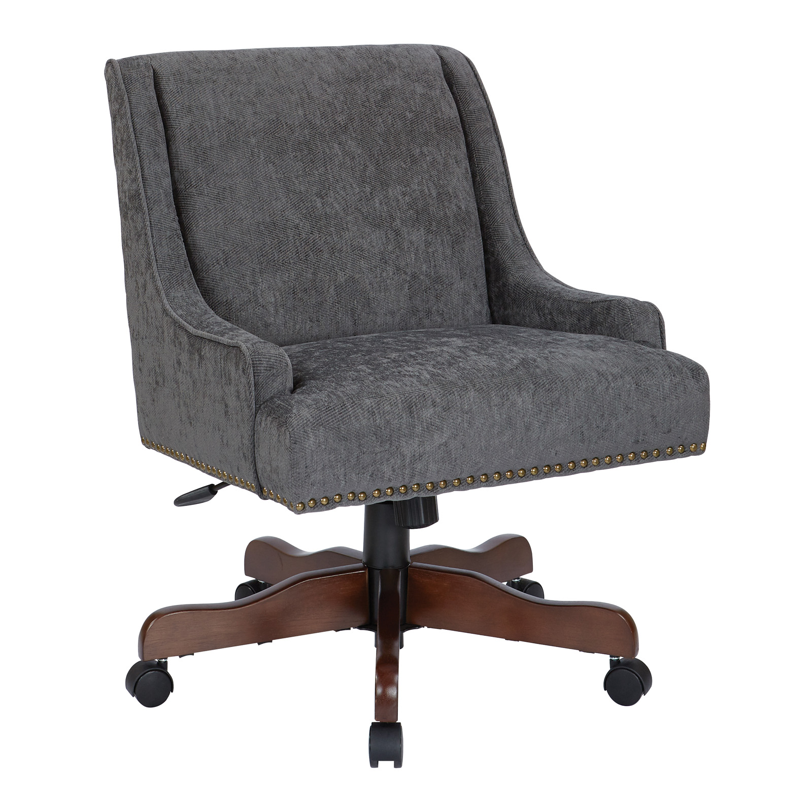 bassett ellis executive chair power lift modern contemporary hayneedle inspired by everton upholstered office