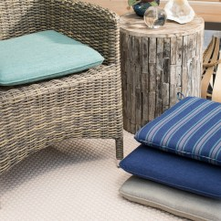 Cushions For Wicker Chairs Stool Chair Sale Furniture Outdoor Hayneedle Belham Living Catalina 17 X In Seat Pad