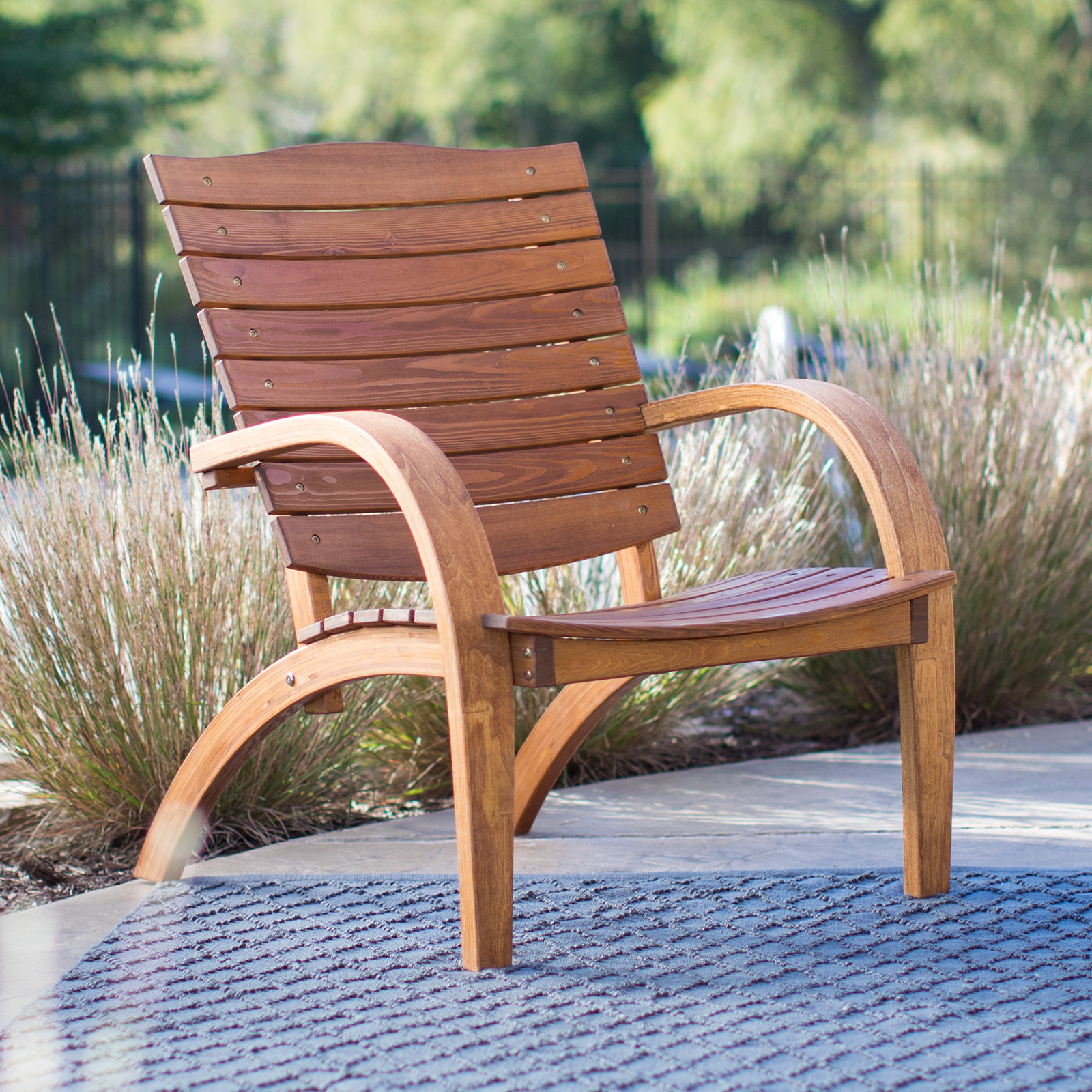 adirondack chair wood florence dining bespoke chairs hayneedle belham living bryson curved