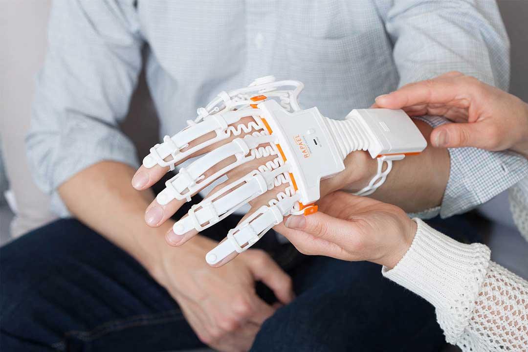 stroke rehab and hand