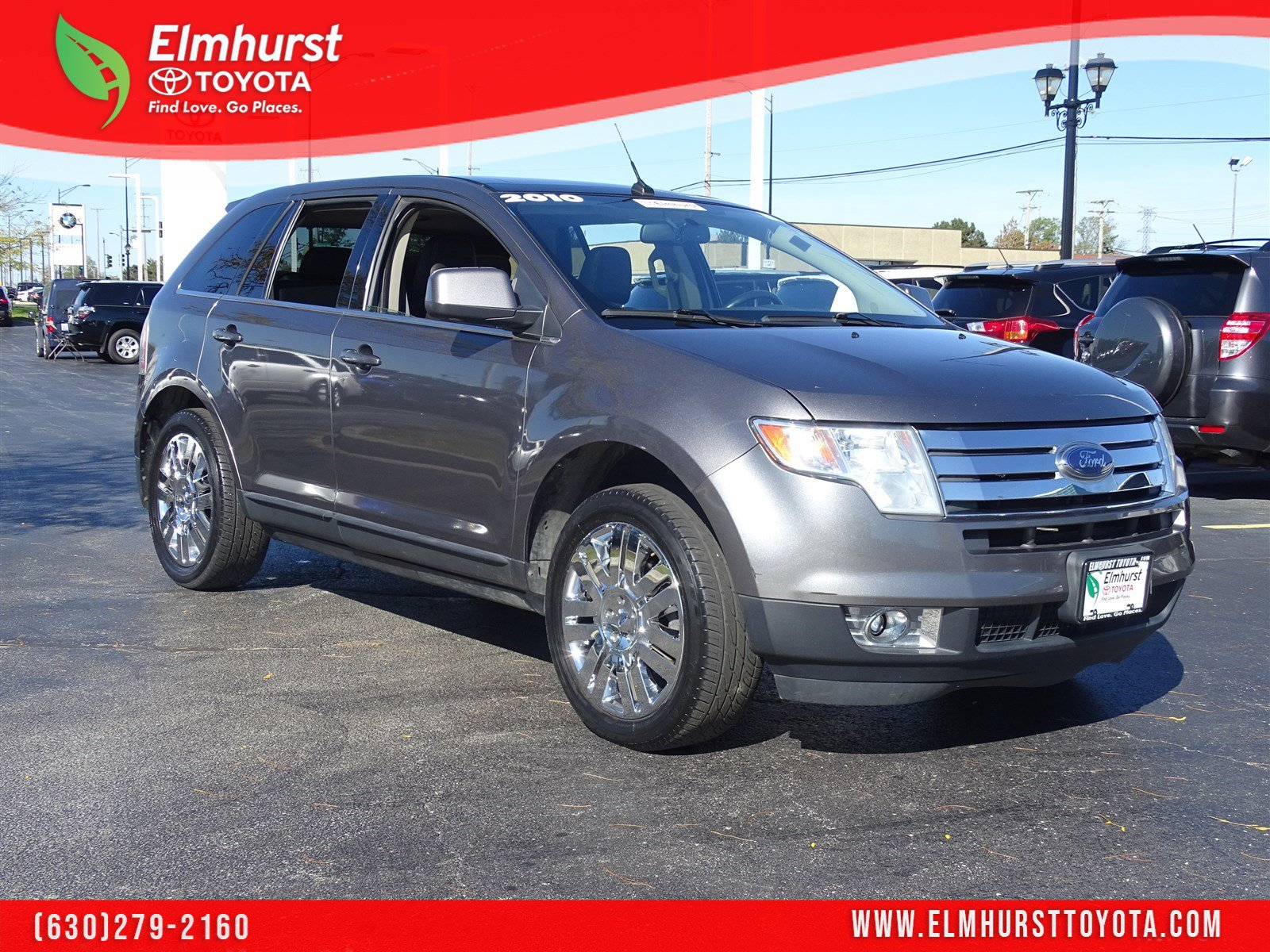 hight resolution of pre owned 2010 ford edge limited