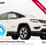 Pre Owned 2018 Jeep Compass Limited 4x4 Sport Utility In Burnsville 14bh146p Walser Automotive Group