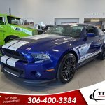 Pre Owned 2013 Ford Mustang Shelby Gt500 5 8l Supercharged V8 662hp Launch Control Brembo Rare 2dr Car In Regina Gp11136 Titan Automotive Group