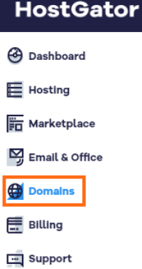 Connect Hostgator Domain with Wix - Customer Portal Domains Section