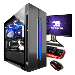 Zeus Thunder Ultimate Gaming Systems Chair Akracing K7012 Intel X299 Pro Ibuypower Lian Li Lancool One Tempered Glass Rgb Case Black