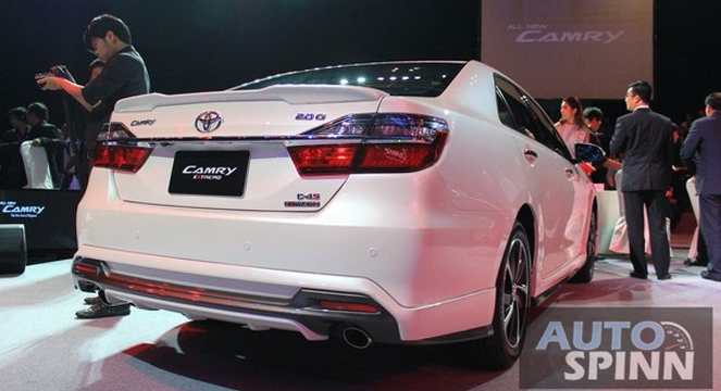 all new toyota camry thailand jok mobil grand avanza 2015 hybrid launched in from 2 0 litre no more four speed engines for