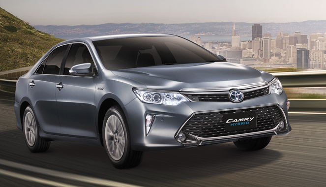 all new toyota camry thailand harga agya trd-s 2015 hybrid launched in from 2 5 litre