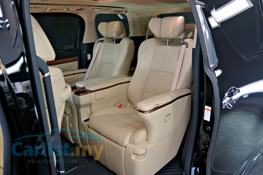 all new vellfire interior grand avanza veloz matic the 2016 toyota exclusive early access to first unit is vl executive lounge but they share same platform that s more rigid and incorporates a double wishbone rear suspension over