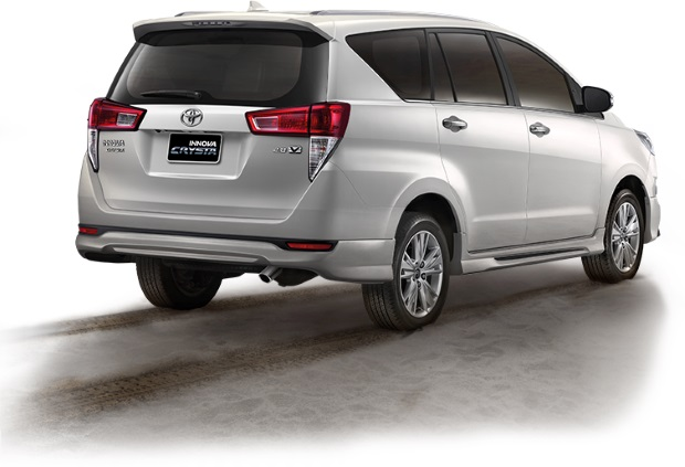 all new kijang innova crysta modifikasi grand avanza 2016 toyota launched in thailand auto news has also elected to add a 2 8 litre turbodiesel engine option the s model range and curiously diesel models are ones with