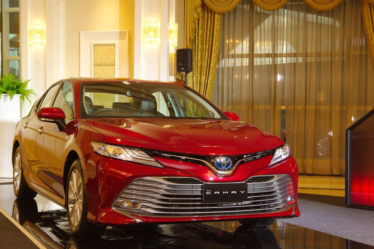 all new camry 2018 thailand toyota yaris trd putih eight generation launched in 3 the second engine lineup is part of dynamic force family this case a 2 5 litre unit that does healthy 208 ps and 252 nm