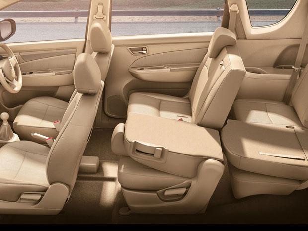 Interior Suzuki Ertiga Hybrid