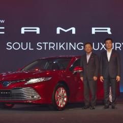 All New Camry 2018 Thailand Grand Veloz Semisena Eight Generation Toyota Launched In 3 Engines 4