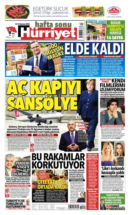 Hürriyet - Zeitung als ePaper im iKiosk lesen