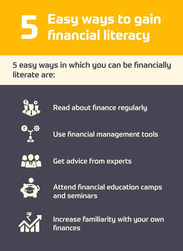 Five Easy Ways To Gain Financial Literacy