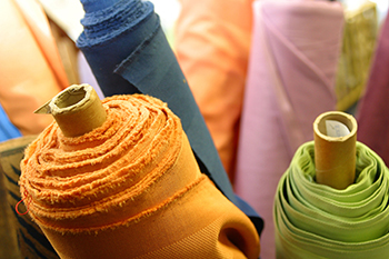 Material-rolls, Textile