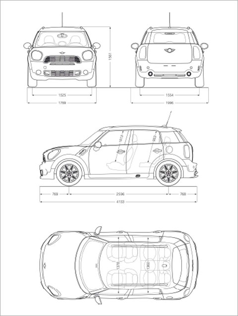 interior dimensions of mini cooper. Black Bedroom Furniture Sets. Home Design Ideas