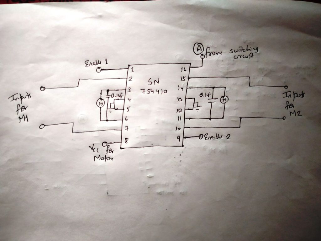 The Circuit Above Basically Is The H Bridge Transistor Circuit