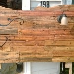 Headboard From Wooden Pallets 6 Steps With Pictures Instructables