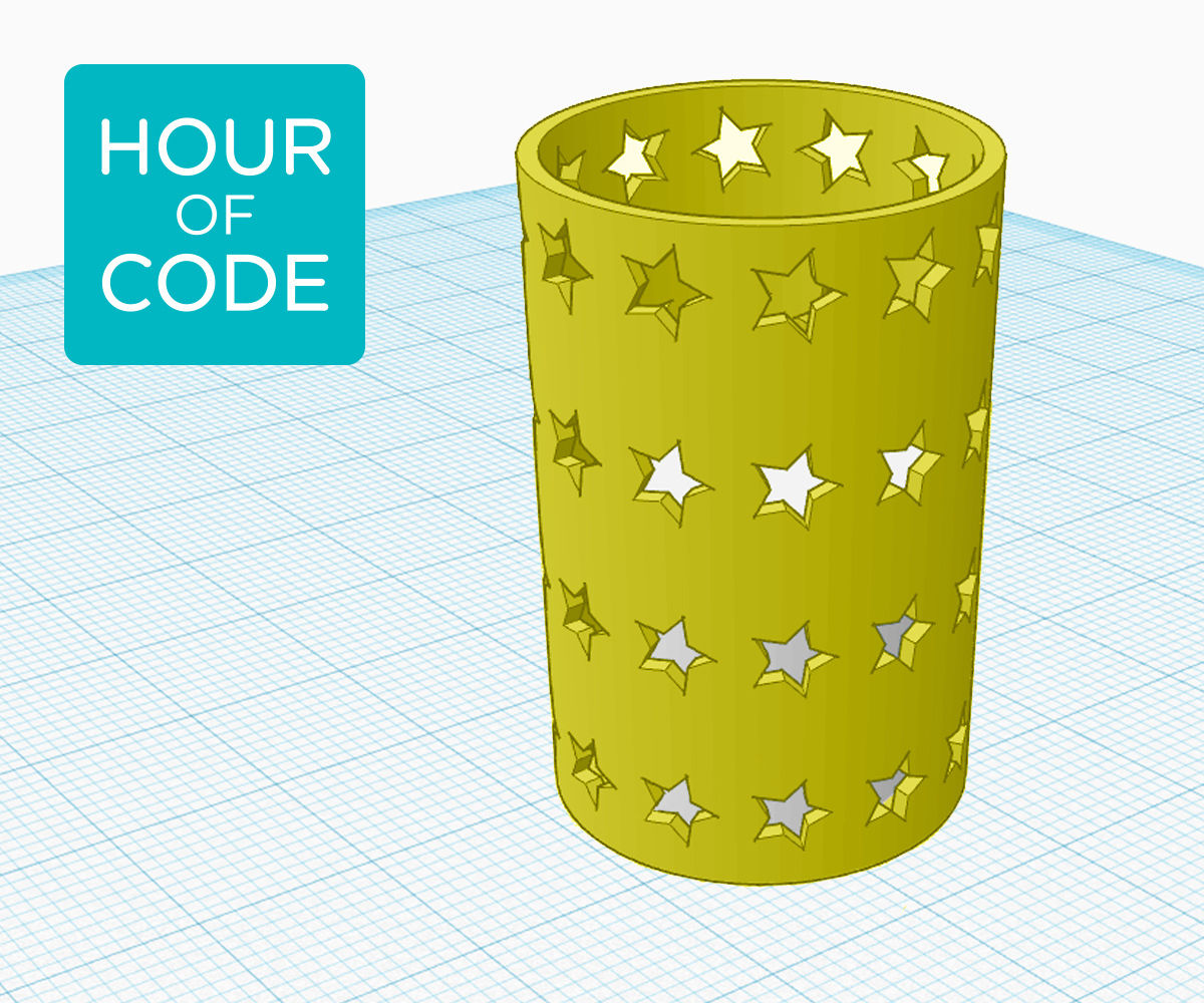 hight resolution of Code-generated Patterns in Tinkercad : 9 Steps (with Pictures) -  Instructables