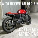 Give A New Life To An Old Motorcycle How To Build A Cafe Racer 8 Steps With Pictures Instructables