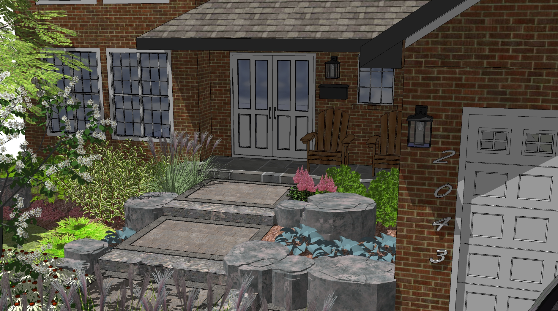 3d landscape design tutorial 8 steps