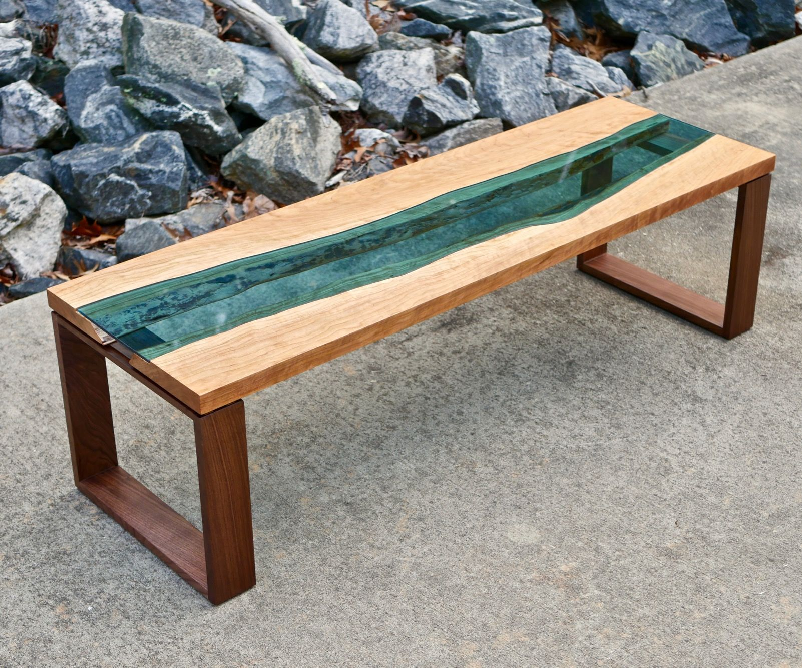 live edge river coffee table how to