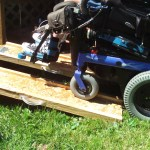 Portable Wheelchair Ramps 7 Steps With Pictures Instructables