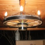 Wagon Wheel Chandelier 9 Steps With Pictures Instructables