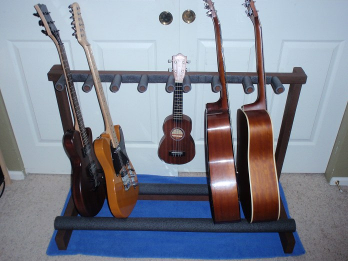 My Multiple Guitar Stand 15 Steps With Pictures Instructables