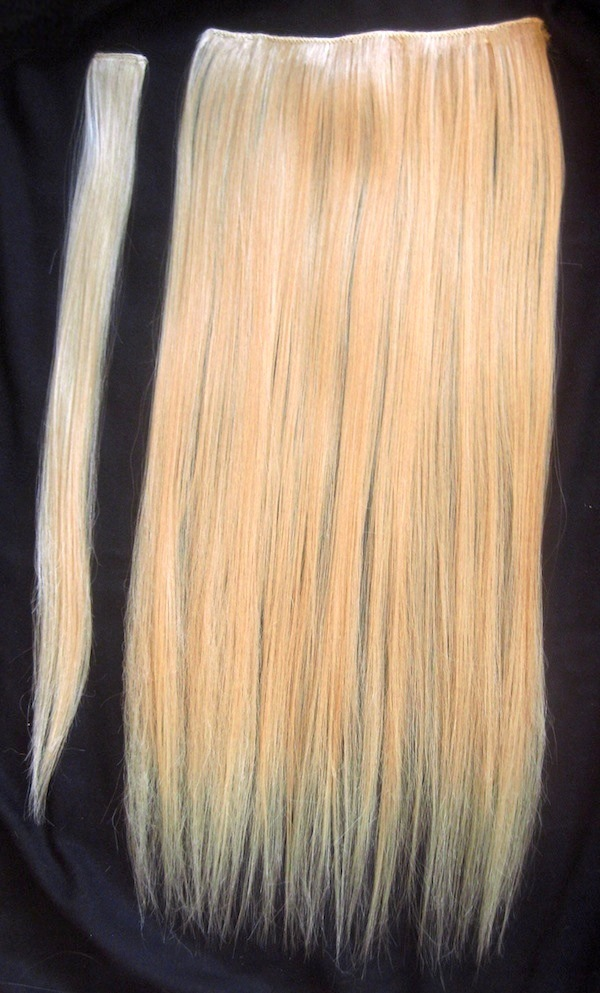 Diy Clip In Hair Extensions : extensions, Clip-In, Extensions, Steps, (with, Pictures), Instructables