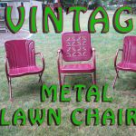Rejuvenate Vintage Metal Lawn Chairs 12 Steps With Pictures Instructables